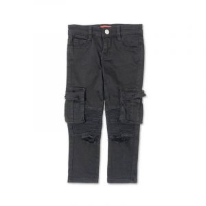 Clayton Cargo Biker Denim
