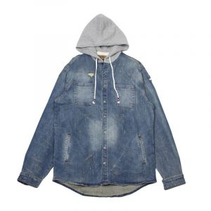 Crysp Denim Walsh Hooded Jacket