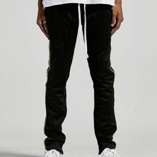 Crysp Denim Track Pants