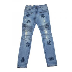 Embellish Houten Biker Denim