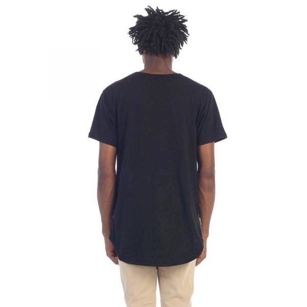 Elong Basic Side Zip Tee