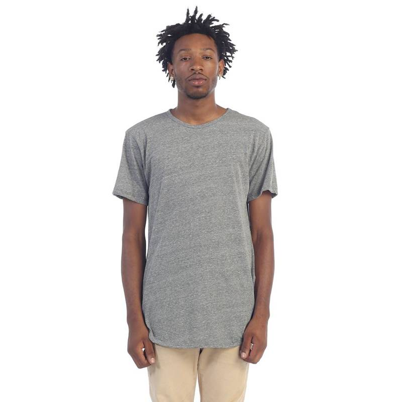 Elong Tee Side Zip