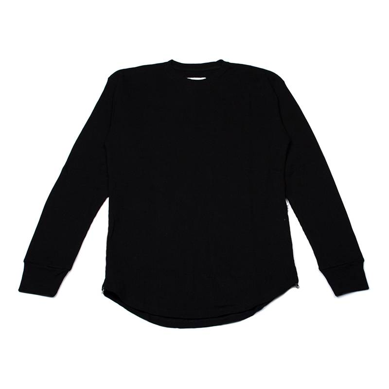 Eptm Side Zip Thermal Elongated Long Sleeve