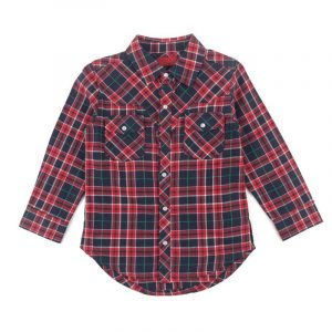 Aaden Plaid Western