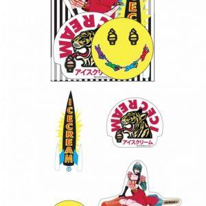 Ice Cream Sticker Pack Holiday 18