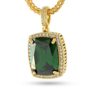 King Ice Emerald Jewel Necklace