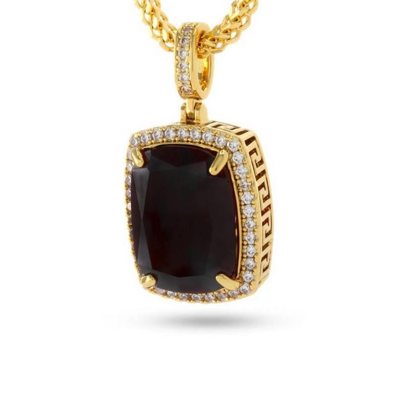 King Ice Onyx Jewel Necklace