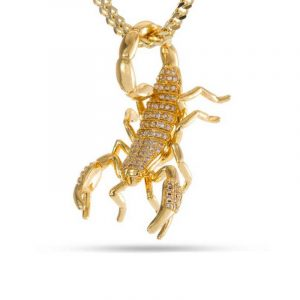 King Ice Scorpion Necklace