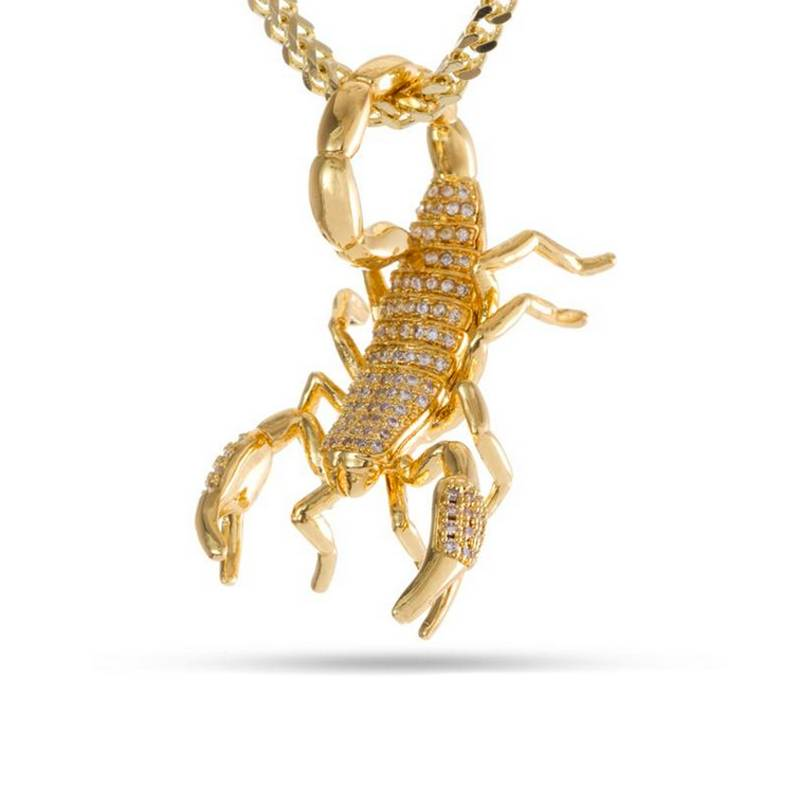 King Ice Scorpion Necklace