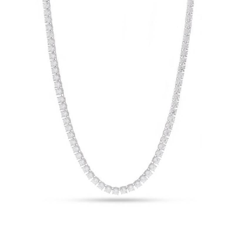 King Ice White Gold Tennis Chain