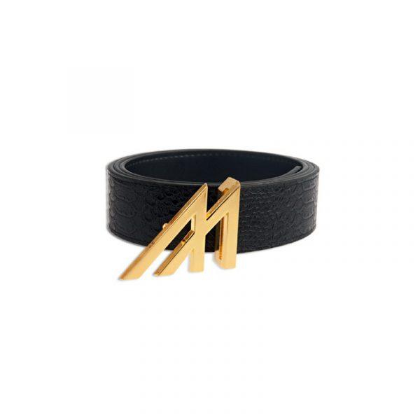 Mint Anaconda Belt Black