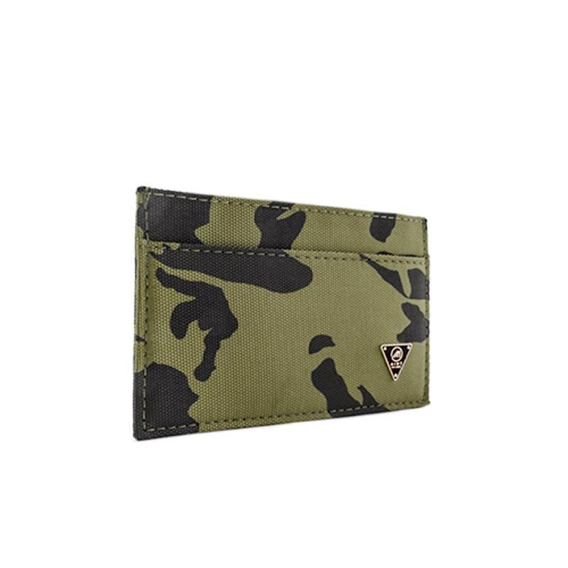 Camo Nylon Ultra Slim Wallet