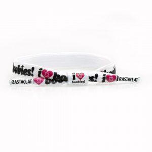 Rastaclat I Love Boobies Bracelet