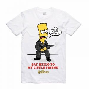 Retro Kings Scarface Bart Tee