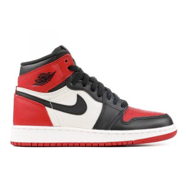 """Jordan Retro 1 """"Bred Toe"""" GS"""