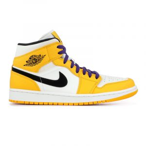 "Jordan Retro 1 Mid ""Lakers"""