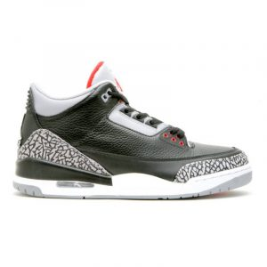 "Retro 3 ""Black Cement"" CDP"