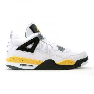 """Jordan Retro 4 """"Tour Yellow"""""""