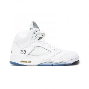 "Jordan Retro 5 ""White Metallic"""