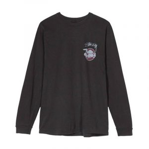 Stussy Skateman Pig Dyed Long Sleeve