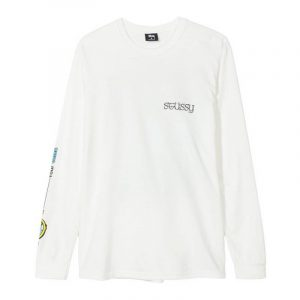 Stussy Stars Pig Dyed Long Sleeve