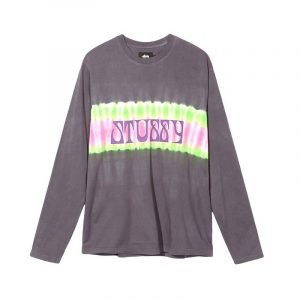 Stussy Tie Dye stripe Long Sleeve