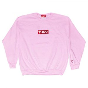 Thizz Box logo Crewneck