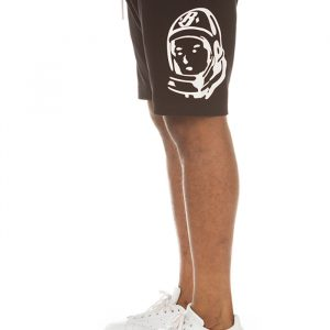 billionaire boys club helmet shorts black