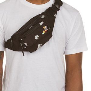 Billionaire Boys Club Space Fanny Pack Black