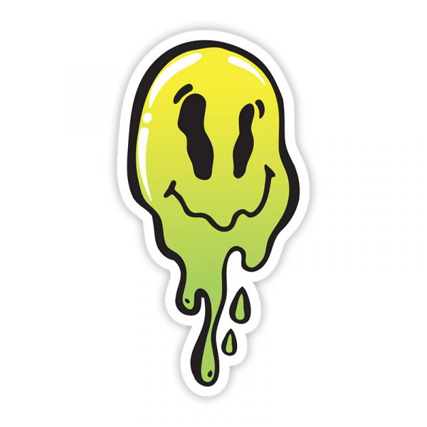 Stickie Bandits Trip Face Sticker