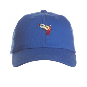 billionaire boys club slouch dad hat blue