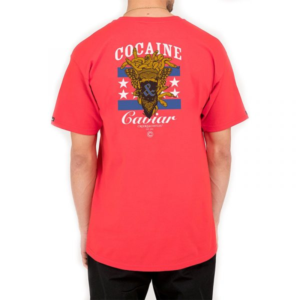 crooks and castles everything graphic tee red