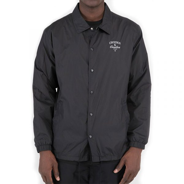crooks and castles everything coach jacket