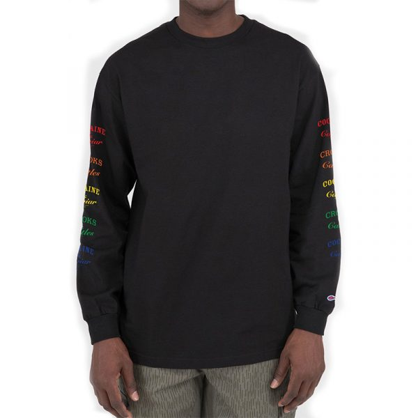 crooks and castles everything multi long sleeve