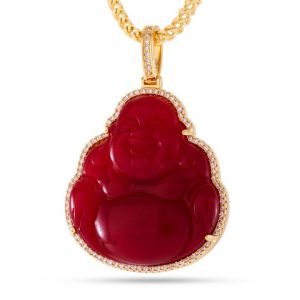 King Ice Buddha Necklace