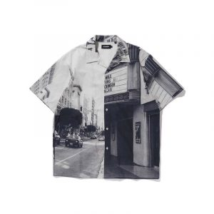 XLarge Open Collar Button Down