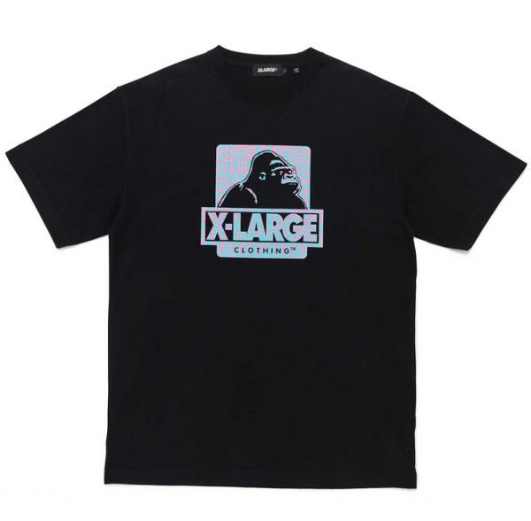 XLarge croc original logo tee black