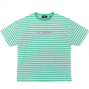 XLarge richard border tee green