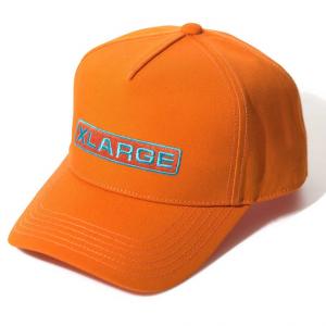 XLarge rounded trucker cap orange
