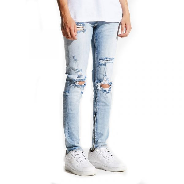 Crysp Denim Pacific Light Blue Side