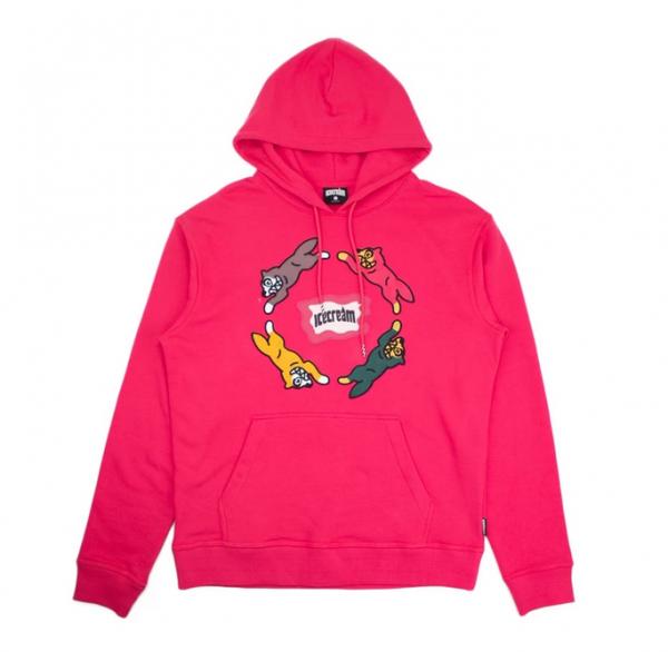 Ice cream chase hoodie rasberry