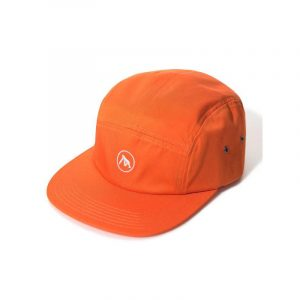 XLarge Embroidered Camp Cap Orange