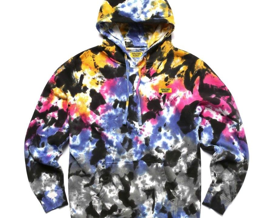chinatown market tie dye hoodie