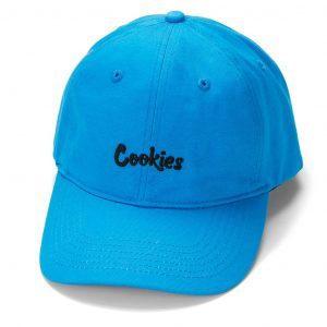 cookies thin mint logo dad hat blue