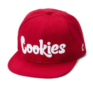 cookies thin mint snapback red and white