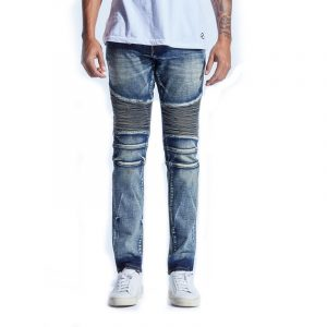 Embellish Fizale Biker Denim