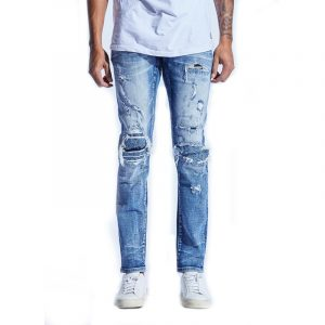 Embellisj McHale Rip and Repair Denim
