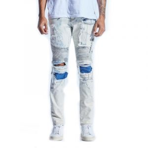 Embellish Van Gundy Biker Denim