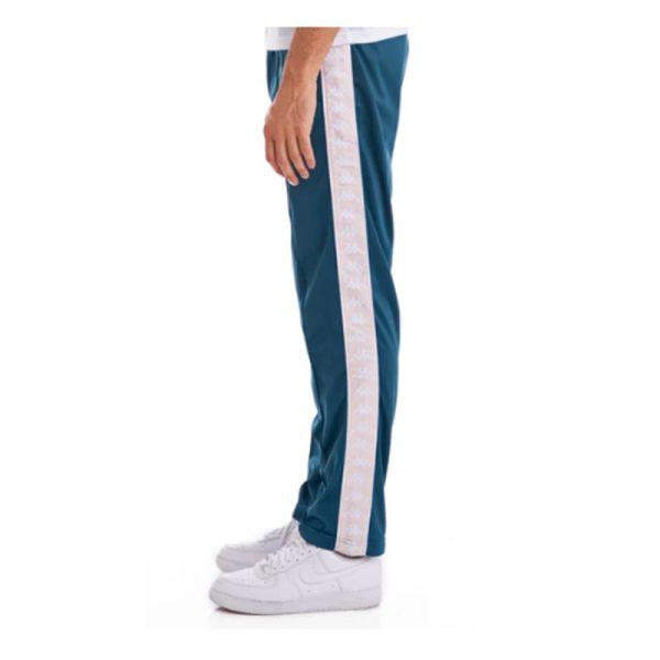 kappa banda astoriazz track pants blue petrol