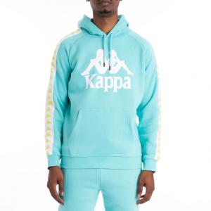 kappa banda hurtado hoodie green lime white